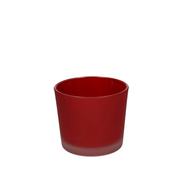 <h4>Glas kleur Pot Conner mat d10*8.5cm</h4>