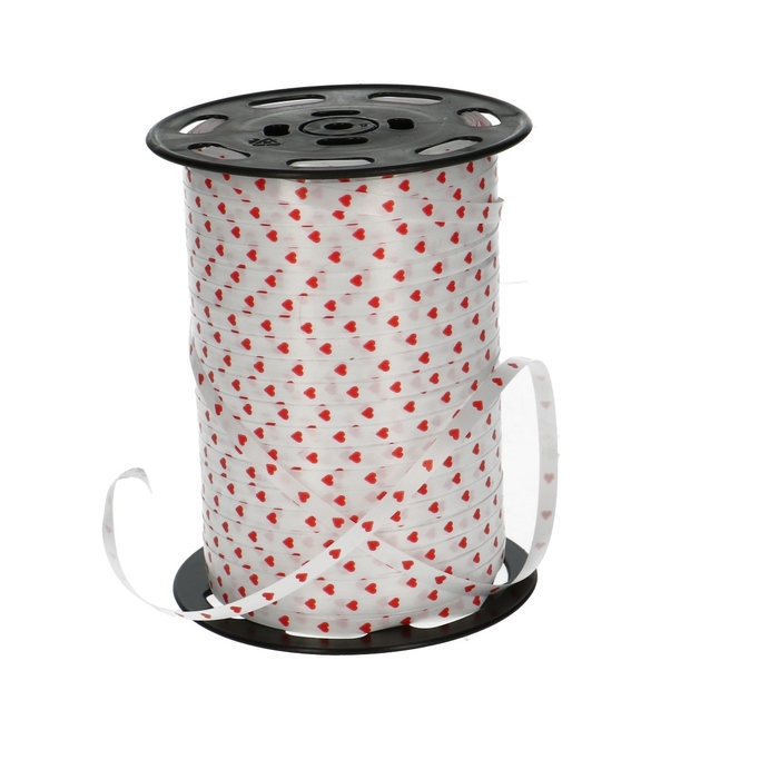 <h4>Valentijn Krullint  5mm 500m hartjes</h4>