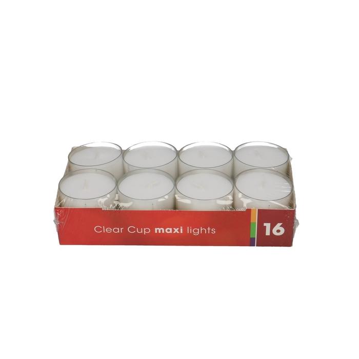 <h4>Candle Tealights maxi x16 9 hrs</h4>