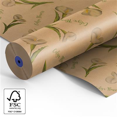 <h4>Papier rol 60cm br. kraft 40 gr Calyx Fowers 500m.</h4>