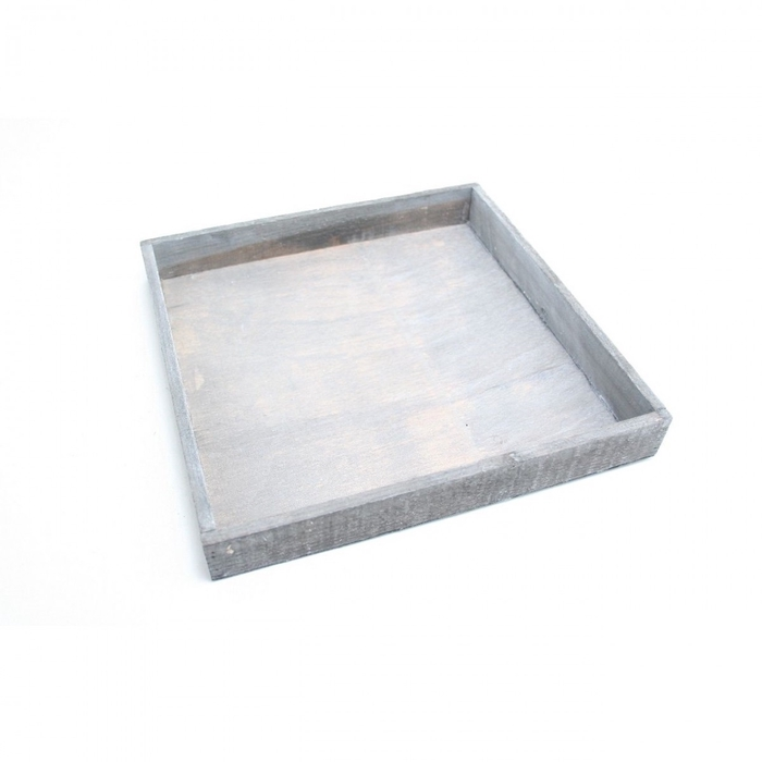 <h4>Hout Tray vierkant d30*4cm</h4>