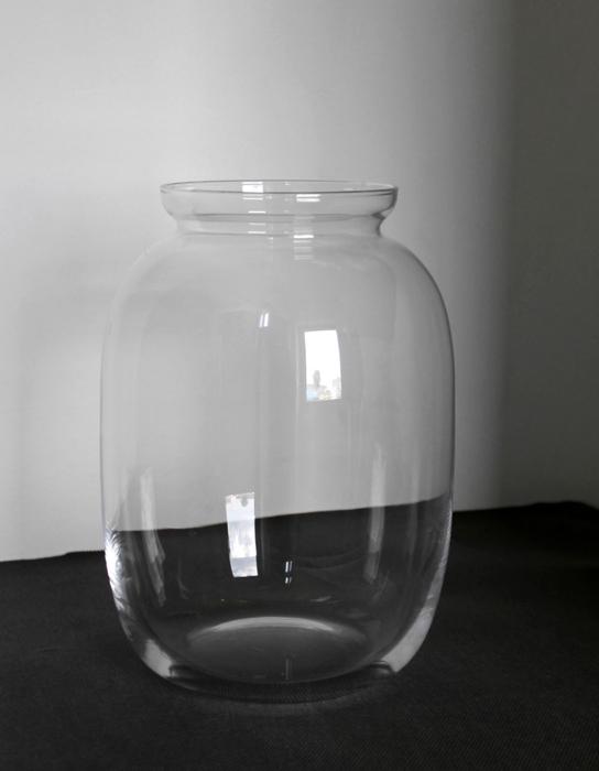 <h4>DF870628089 - Vase glass d18xh25 clear</h4>