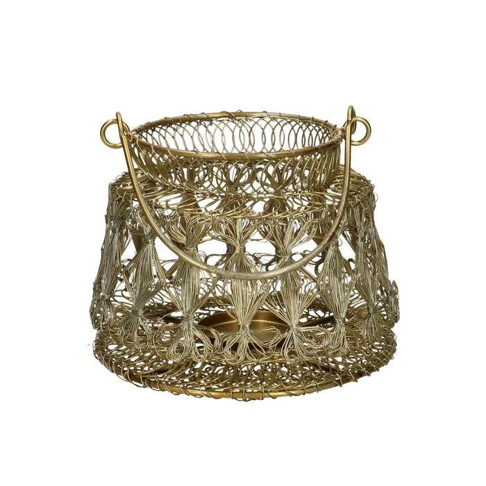 <h4>Lantern Metal wire d8/15*12cm</h4>