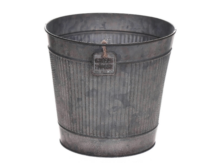 <h4>DF500063367 - Pot Rinco d15.5xh13 grey</h4>