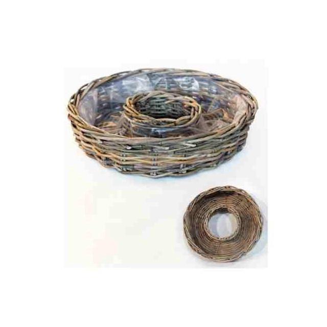 <h4>Manden Rotan ring d30*8cm</h4>