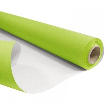 <h4>Papier Rol 80cm 40m 60g Wit/Groen</h4>