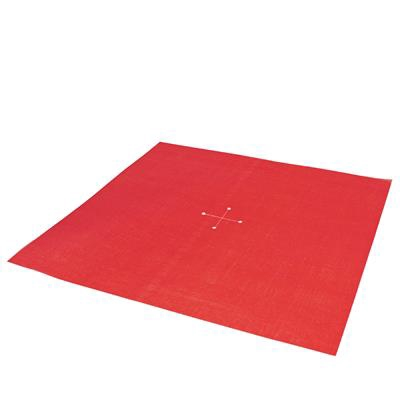 <h4>Decolux Silk 60x60cm + cross ø 8cm red</h4>