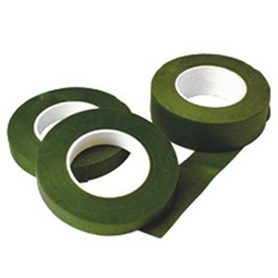 <h4>flower tape 13mm  x 27,5mtr green</h4>