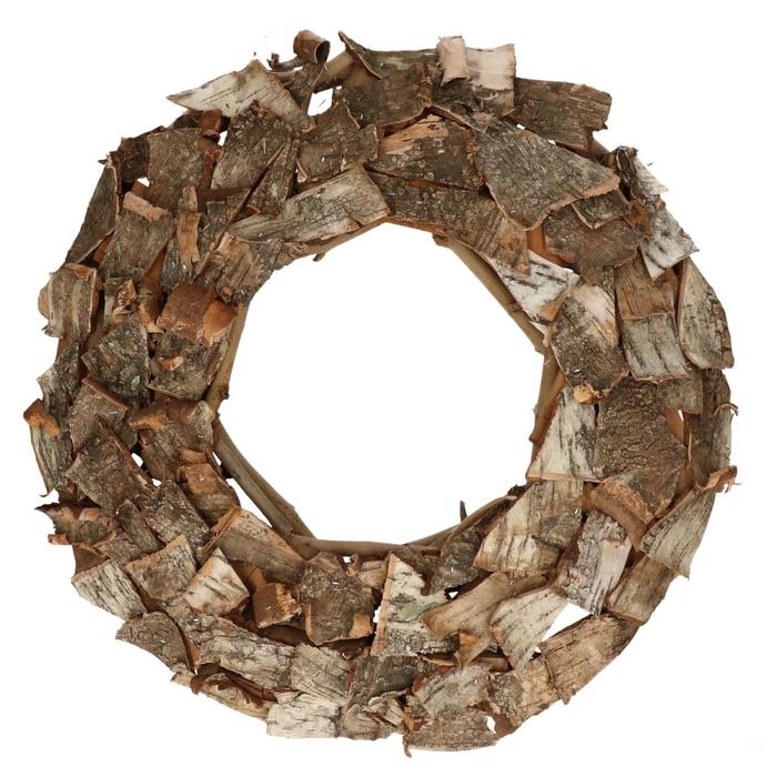 <h4>Krans d50cm Birch brick</h4>
