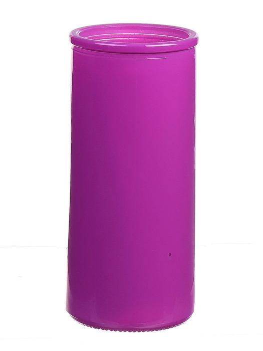 <h4>DF663830300 - Cylinder Fleurs d5.5xh12.3 fuchsia</h4>