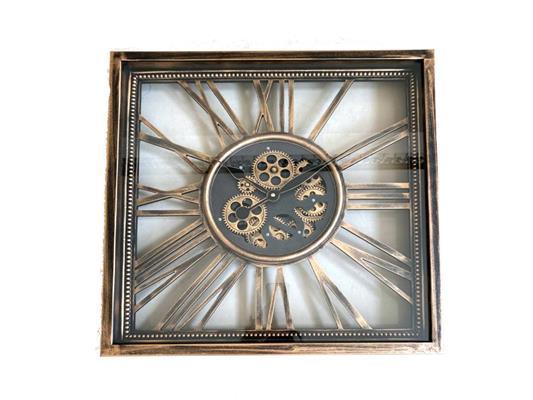 <h4>Clock Gear Open 53x53cm A.gold</h4>