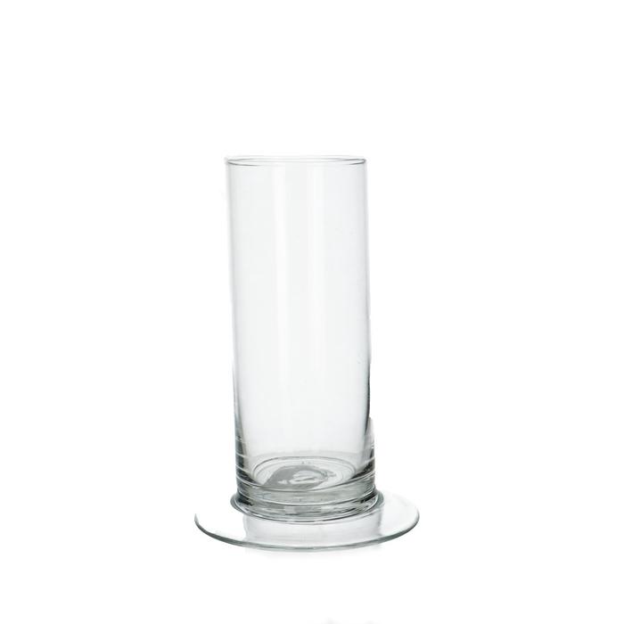 <h4>Glas Cilinder/voet d06*15cm</h4>