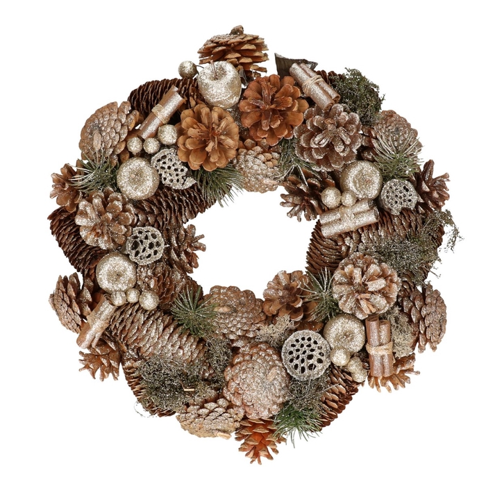 <h4>Wreath d36cm Fruit</h4>
