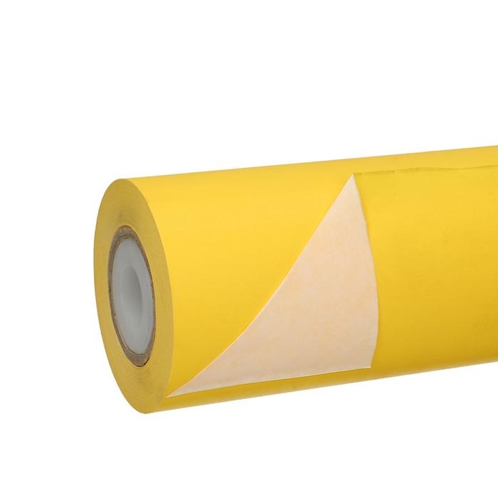 <h4>Papier Rol 25cm 50g 1.25kg Wit/Geel</h4>