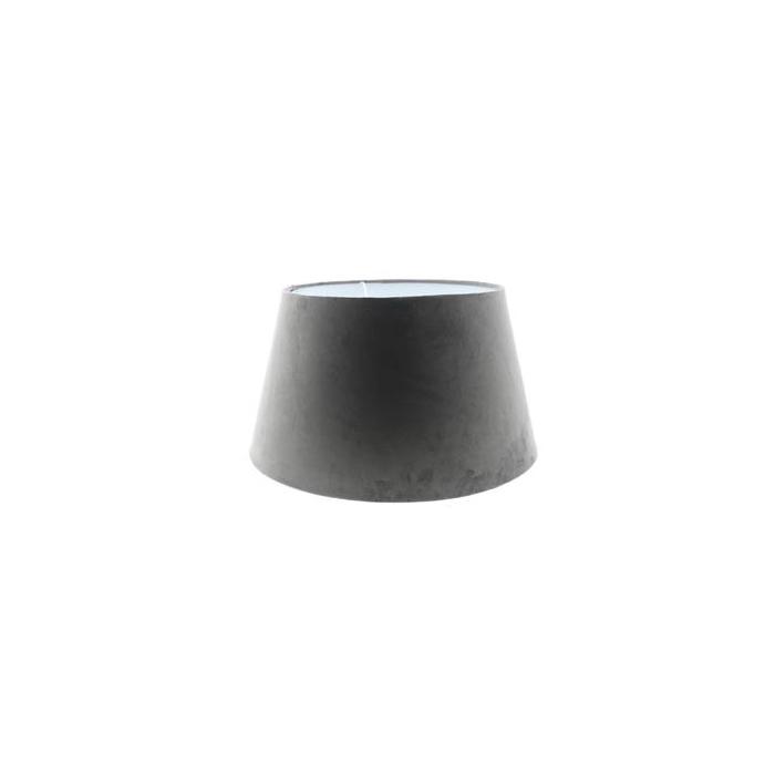 <h4>Lamp Shade Ø45xh25cm Grey Vel.</h4>