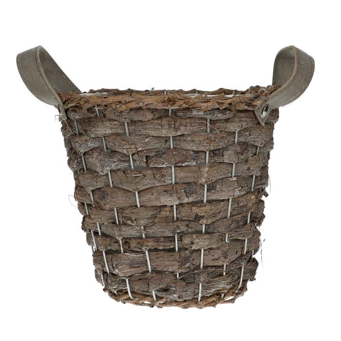 <h4>Baskets Jane pot+handle d20*18cm</h4>