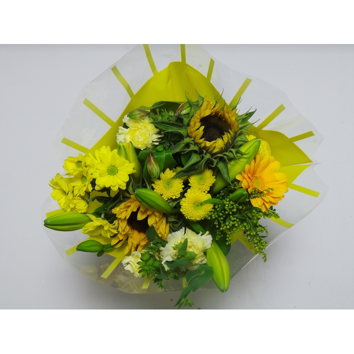 <h4>Bouquet 13 stems Yellow</h4>