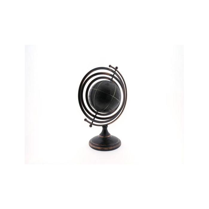 <h4>Globe 28x20x41cm Black</h4>