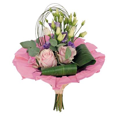 <h4>Bouquet cover kraft Ø36cm pink</h4>