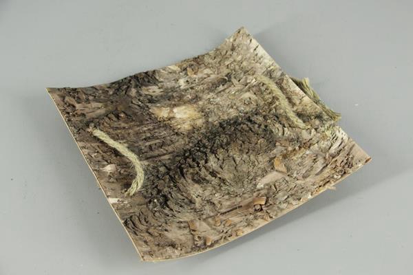 <h4>Birch Bark Slice+rope 30x30cm</h4>