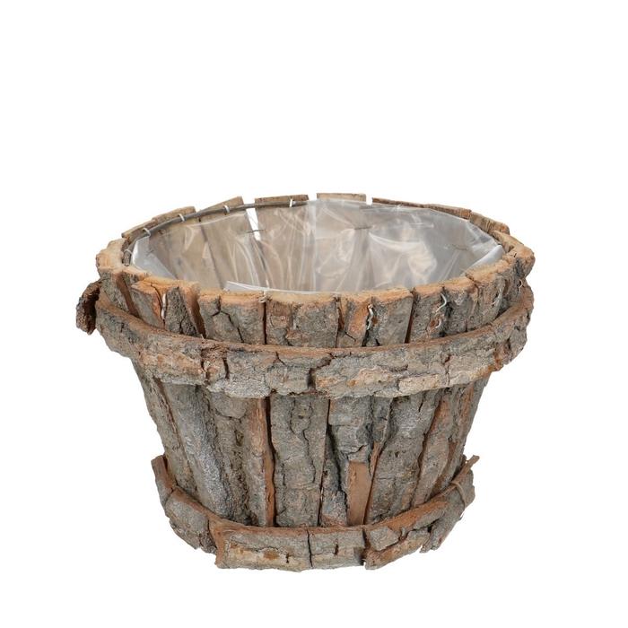 <h4>Manden Bark pot rond d20*14cm</h4>