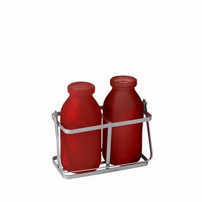 <h4>Rekje durban glas 2 flesjes rood</h4>