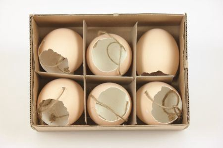 <h4>Hang. Egg Shell Matt 6pc Cream</h4>