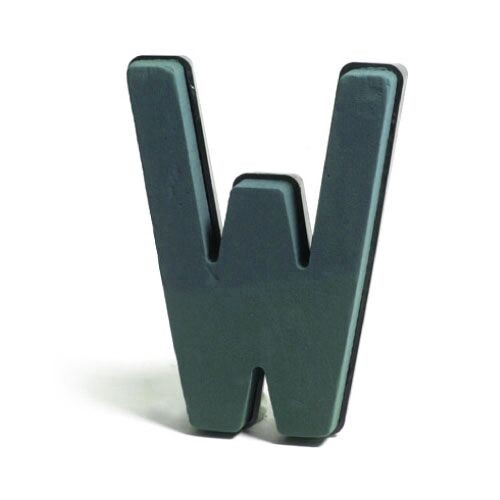 <h4>Steekschuim Basic Letter W 29cm</h4>
