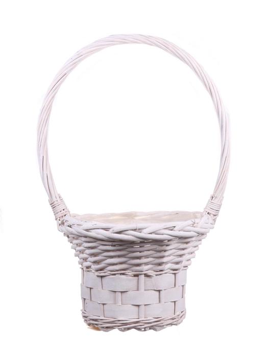 <h4>DF655552500 - H.basket Patrick1 d25xh48 white</h4>