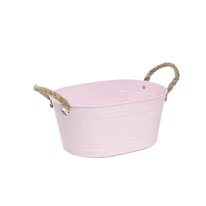 <h4>Zinc Rib pot ov. 27.5*20*12cm</h4>