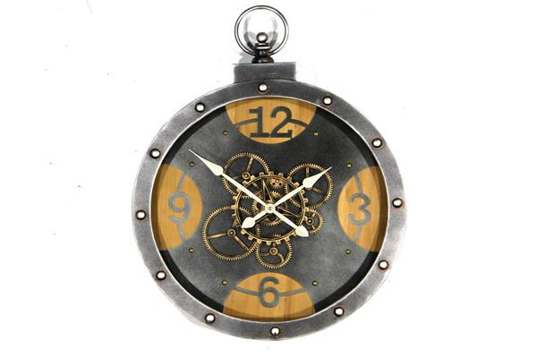 <h4>Clock Gear Ø56cm Grey 81525</h4>
