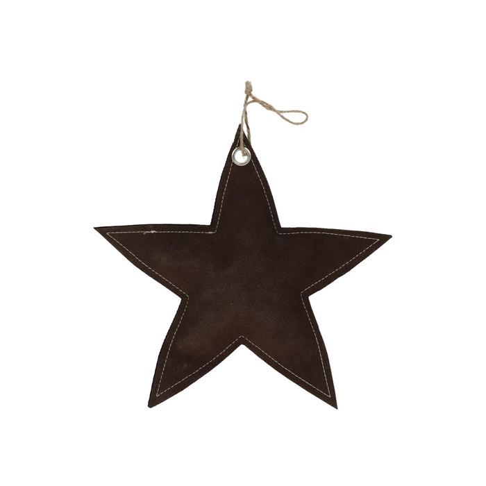 <h4>Kerst Hanger ster textiel 25*5cm</h4>
