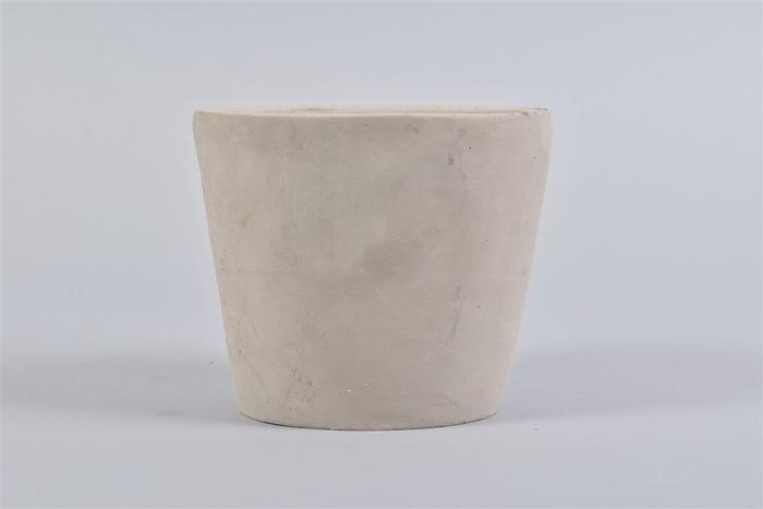 <h4>Beton Pot Rond Grijs 14x12cm</h4>