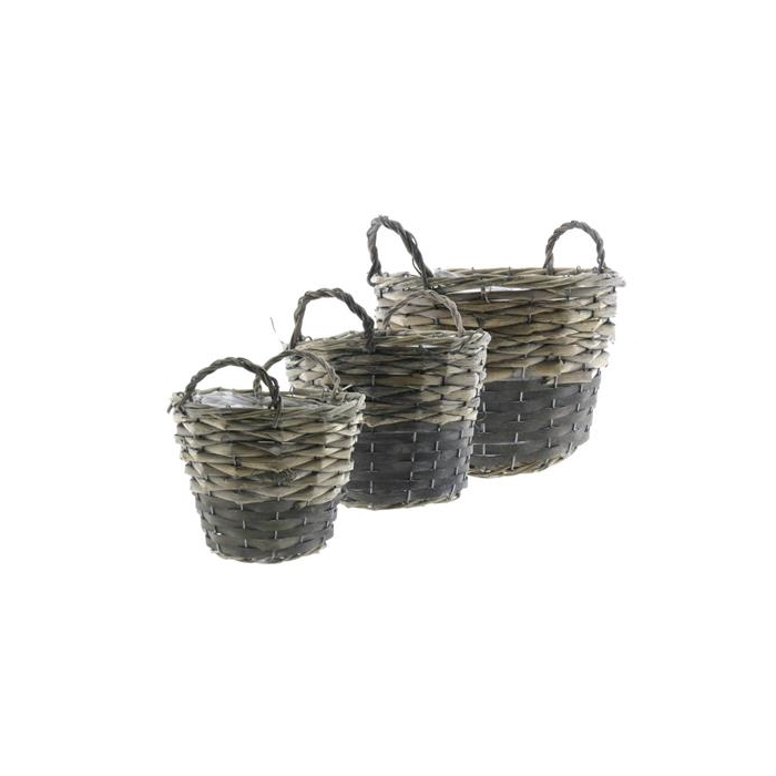 <h4>Basket Willow S/3  Ø25x19cm</h4>