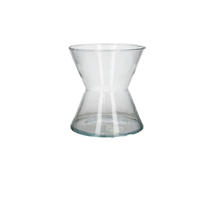 <h4>Glas Vaas X d14*15cm</h4>