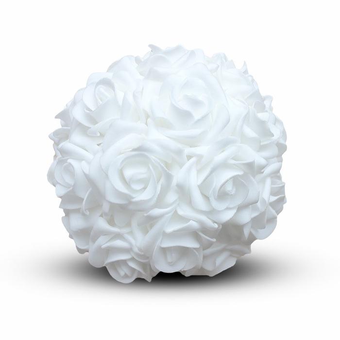 <h4>Bruiloft Roos bal foam d18cm</h4>