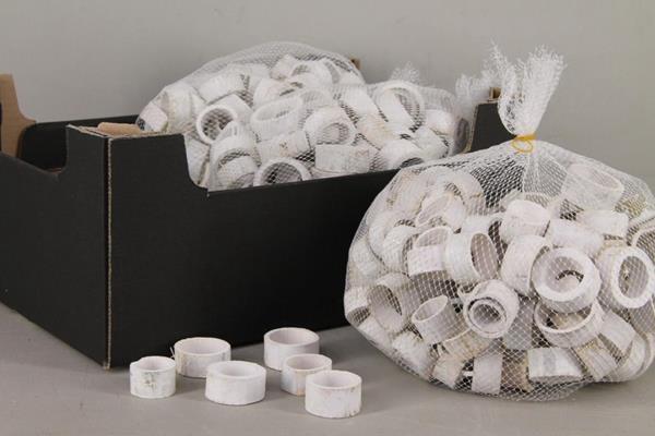 Bamboo Ring 3-5cm 500g Whitew