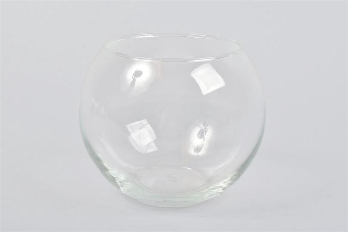 <h4>Glas Bol Vaas 15x13cm</h4>
