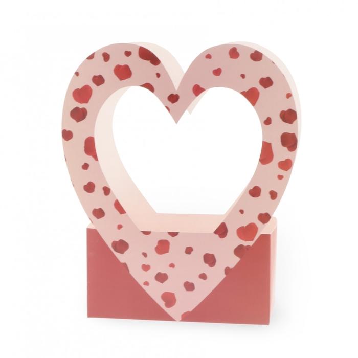 <h4>Valentijn Tas Rose heart 24*12*36cm</h4>