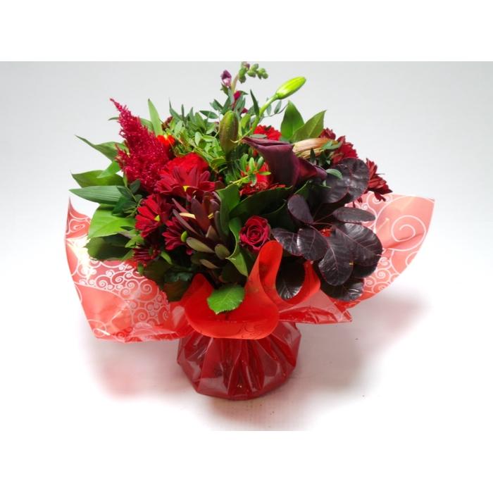 <h4>Bouquet Aqua Large Red</h4>