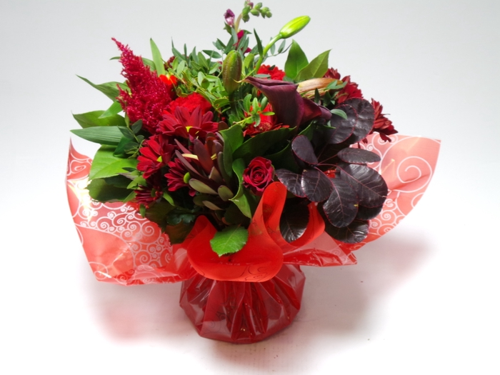 <h4>Bouquet Aqua Large Red</h4>