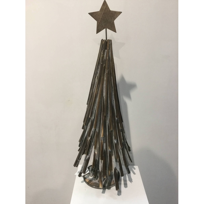 <h4>ANDES TREE WITH STAR 60CM OASIS-DECO</h4>