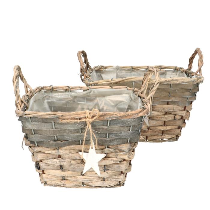 <h4>All Saints Luna basket star S2 24*24*20cm</h4>
