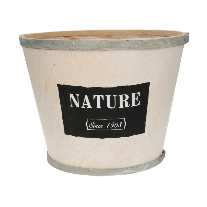<h4>Hout Nature pot d23*18cm</h4>