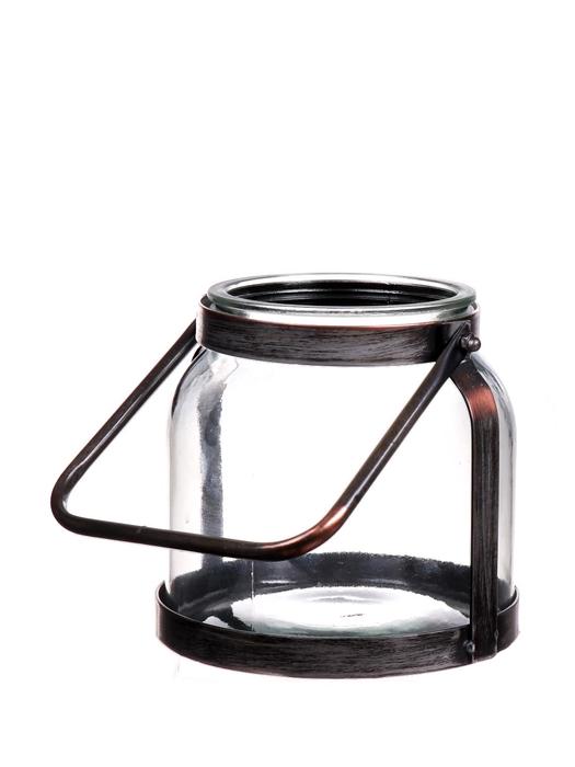 <h4>DF662672300 - Lantern Marcella d12/17xh16.5 bronze</h4>