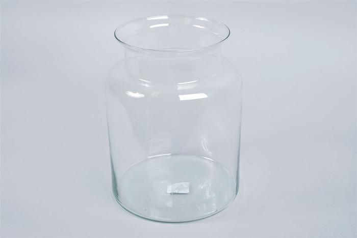 <h4>Glas Melkbus Vaas 18x25cm</h4>
