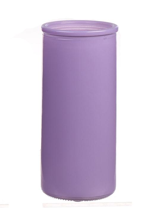<h4>DF663830100 - Cylinder Fleurs d5.5xh12.3 lilac</h4>