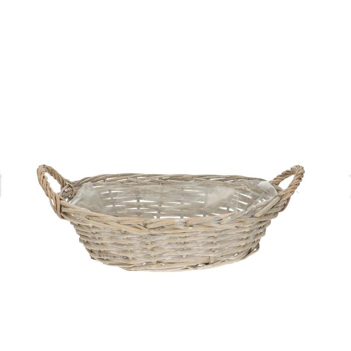 <h4>Baskets Olivia bowl+handle 35/24*8.5cm</h4>
