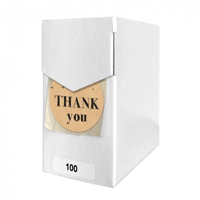 <h4>Labels Sticker 40mm x100 Thank you</h4>