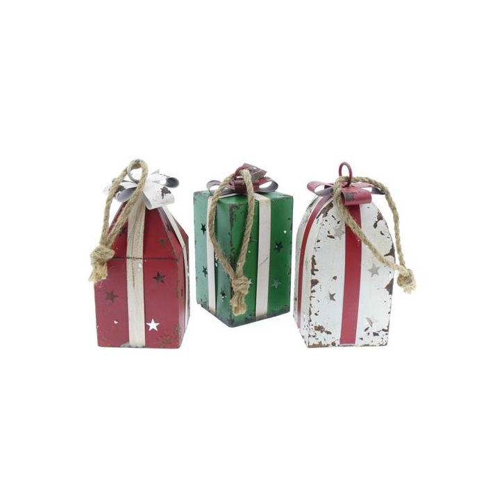 <h4>Bell Gift Hanging Mtl Mix/3 Pc</h4>